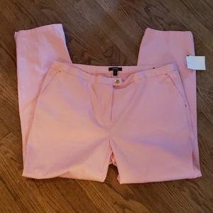 ⭐XOXO pink crop/ankle pants. Sz 13/14